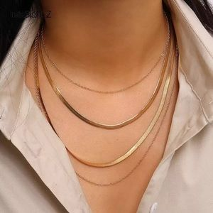 NEW 18k Gold Plated Multi layered Necklace